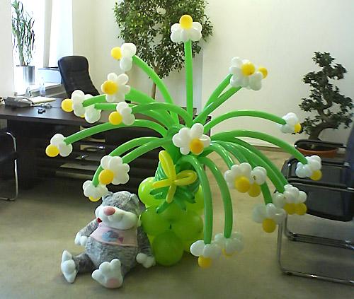 Штуки из шариков. Отличный подарок для ребенка и украшение детского праздника Figur6