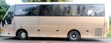 Автобус на свадьбу 35 мест